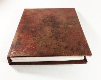 Scarlet Nebula||Hand-Bound Hard Cover Journal