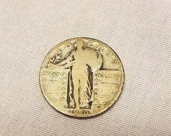 1926 D  Standing Liberty Quarter Good condition