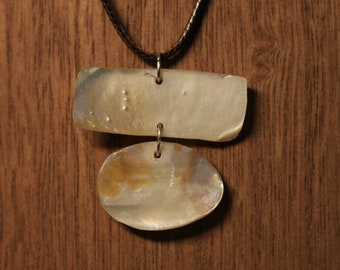 Mussel Shell Pendant
