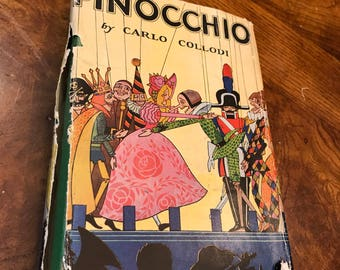 1942 Wartime Copy - Pinocchio by C. Collodi
