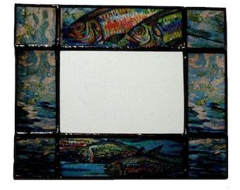 MIRROR - Subway Art,  Delancey Fish Mirror