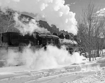 Train Decor, Steam Engine, Locomotive, Train Wall Decor, Train Photography, Railway, Train Enthusiast, Boys Room Decor, Train Pictures