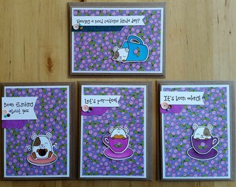 Hammie the hamster card set