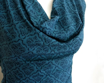 Women's Open Back Cowl Neck Top