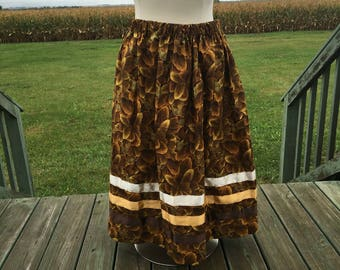 Golden Eagle Feathers Skirt,  2-3X
