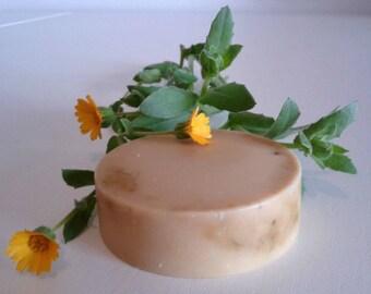 Sapone alla Calendula 1 kg, 100% olio di oliva italiano, sapone delicato, calendula soap, baby soap, Sapone bambini, Sapone Artigianale