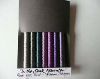 In The bleak Midwinter 7 x 5 metre spools pure silk twist