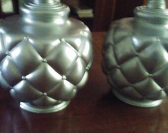 Boudoir Lamp  Pair Upscaled Vintage