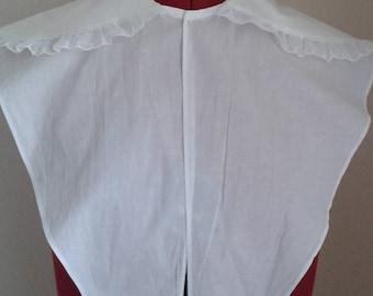 Sale Item - Handsewn Romantic-era replica chemisette