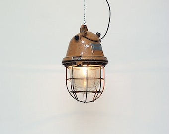 "Lamp industrille: ""Oranje meteor"""