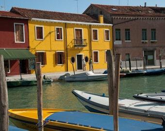 Venice Quiet, Italy Wall Art, Street Photography, Giclee Art Print, Italian Decor, Deborah Julian