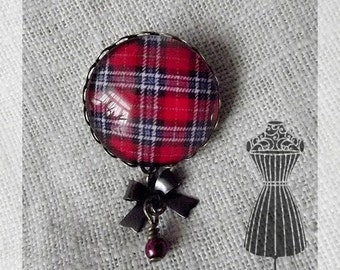 "Brooch cabochon ""Scotland"""
