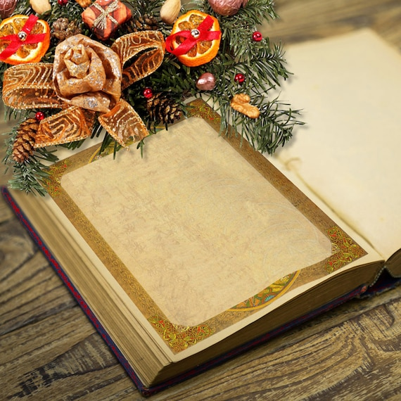 Yule Winter Solstice Book of Shadows Page