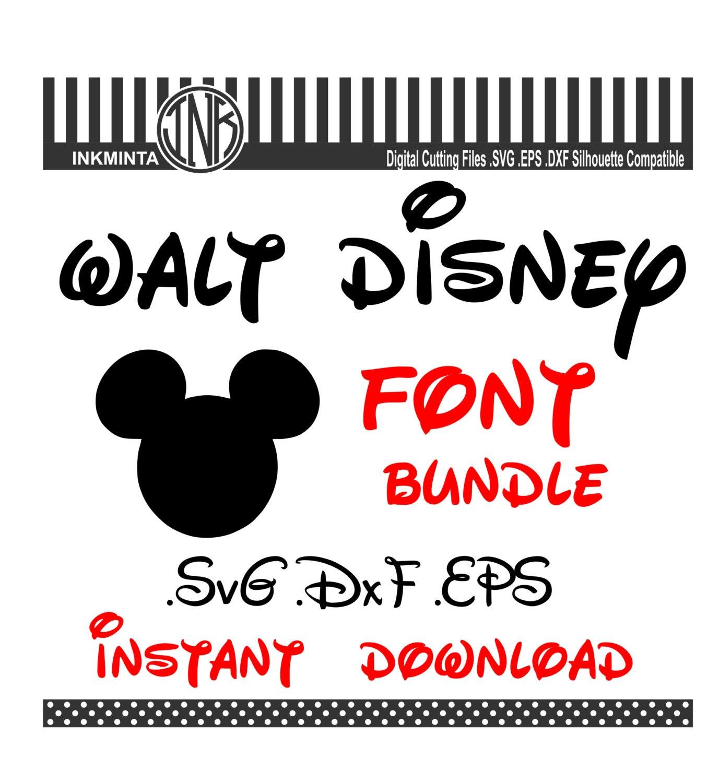 Walt Disney Font Letter Printables – Jerusalem House