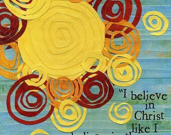 C.S. Lewis Quote Art Print