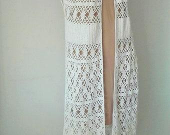 Ibiza style waistcoat-handmade-unique!!!