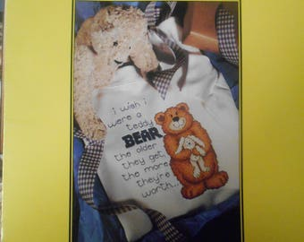 Beary Cute Collection, Leisure Arts, Pattern Leaflet #RENFTLOCS, 1995