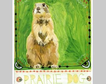 Animal Totem Print - Prairie Dog