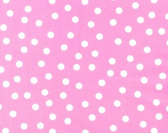 Remix Pink Polka Dot by Ann Kelle for Robert Kaufman