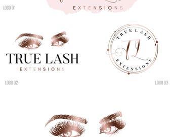 makeup logo design, Custom Logo design, Eyelash logo, Makeup artist logo, Lash logo design Lash extension logo Business logo beauty logo 184
