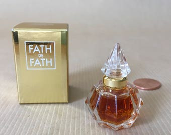 Perfume mini Fath de Fath, vintage in original box. Gift perfume, ladies gift