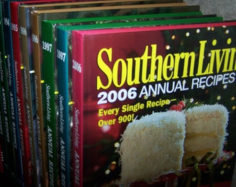 Southern Living Annual Recipes Cookbooks ~~ Vintage ~~ Many Dates to Choose From ~~ 1979 thru 2006 ~~ Recipes - Decor - Scrapbooking -