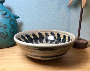 Marj Peeler studio pottery bowl