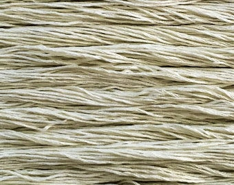 Hand dyed embroidery floss | natural dyed | dew green | embroidery thread | stranded cotton | vegan | eco friendly