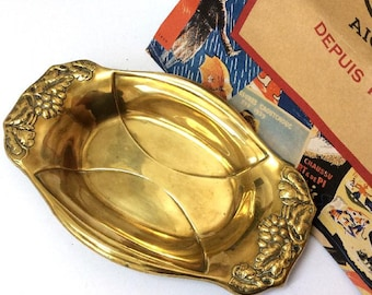 Vintage Brass Fruit Bowl by Beldray,Made in England.
