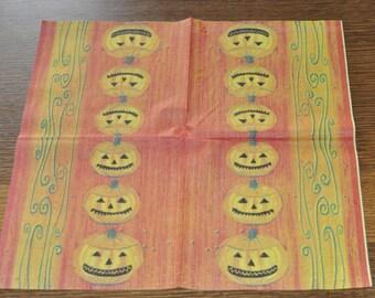 halloween paper towel
