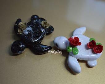 kawaii rose turtles