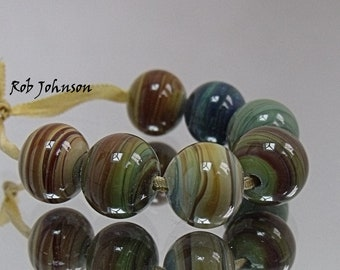 Hedgerow Walk, Lampwork Beads, SRA, UK