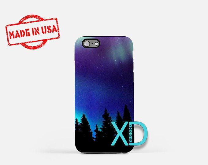 Northern Lights iPhone Case, Aurora Borealis iPhone Case, iPhone 8 Case, iPhone 6s Case, iPhone 7 Case, Phone Case, iPhone X Case, SE Case