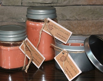 RED HOT CINNAMON Maple Creek Candles ~ Cinnamon, Clove, & Nutmeg ~ Soy Blend Candles; 3 sizes