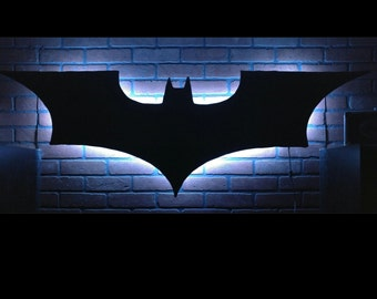 The Dark Knight Batman Backlit Wall Decor