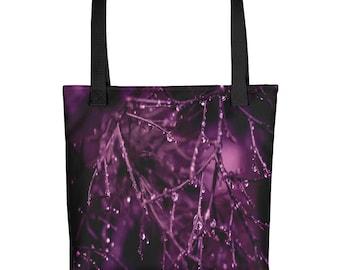 Purple Plum Mist Ladies Tote bag