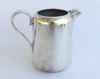 Vintage Silver Plate Creamer Pitcher 7 oz.  194 grams