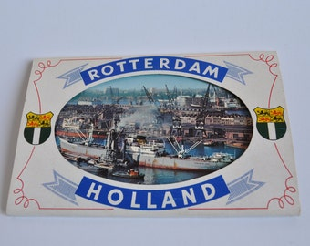 "Block of vintage Postcards ""Rotterdam-Holland"""