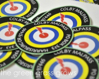 Laser Tag Stickers or Return Address Labels