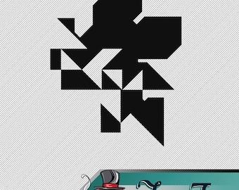 Vinyl Decal Neon Genesis Evangelion Digital Nerv Logo