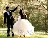 Bridal Skirt Wedding Gown...