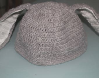 Beanie Bunny Hat funny 4/5 years