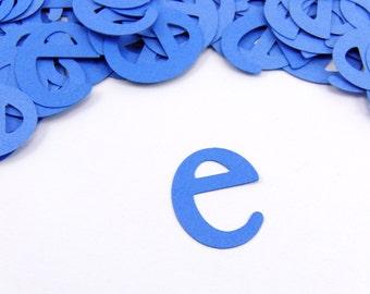 "1"" Lower Case Letter Confetti set of 100"
