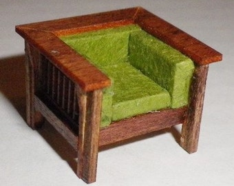 Stickley Style Chair Kit - Quarter Inch Scale