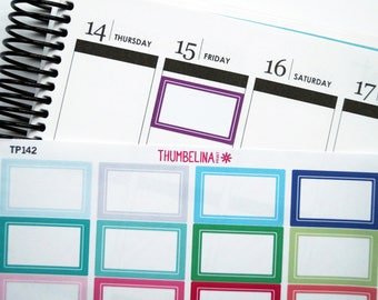 Appointment Box Planner Stickers (TP142)
