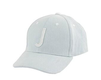 Jack & Winn Denim Baby or Toddler Letter J Snapback Baseball Hat