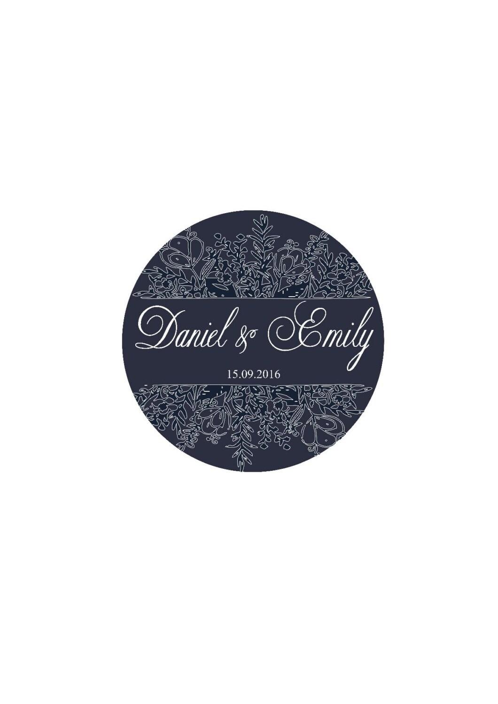 Wedding Favor Labels Custom Wedding Stickers Thank You