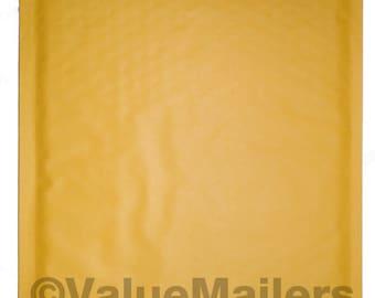 100 2 Kraft Bubble Lite Bubble Mailers 8.5x12
