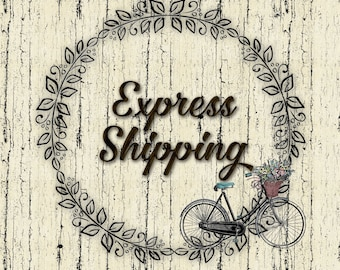 I NEED it now!  Overnight USPS priority express shipping
