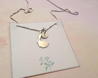 Miniature Bunny Rabbit Necklace